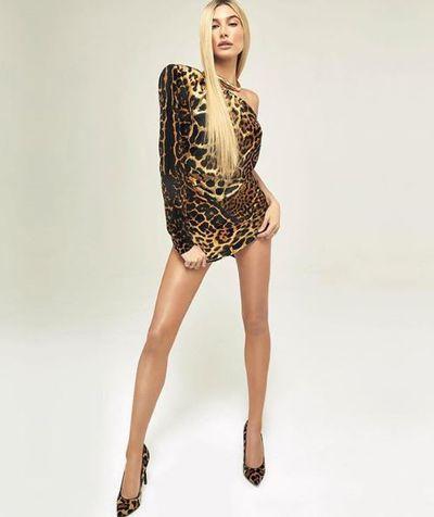 Hailey Baldwin for Vogue Japan