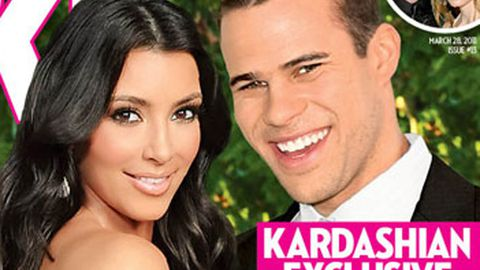 Oops! Kris Humphries face is on Kim K's Xmas cards