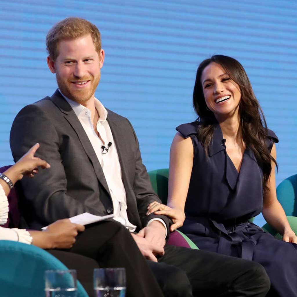 Prince Harry Meghan Markle attend the first annual Royal Foundation Forum held at Aviva
