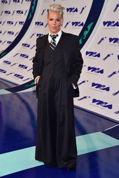 <p>WIN</p> <p>Pink at the MTV VMAs in LA on August 29.</p> <p>The boss.</p>