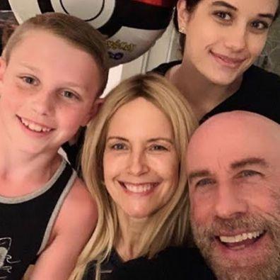 John Travolta, Kelly Preston, Mother's Day tribute, Instagram