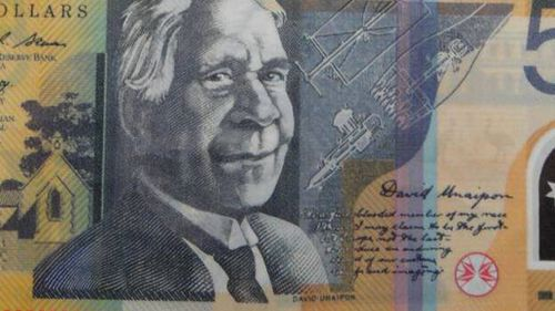 The fake notes can be noticed because of blurry images and poor quality printing. (Supplied/NSW Police)