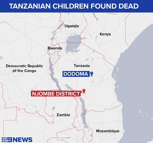 Kidnapped Tanzanian children found dead, body parts removed