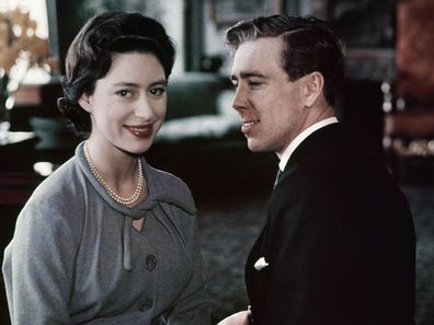 Princess Margaret with Antony Armstrong Jones