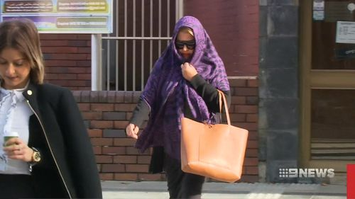 The 57-year-old has been suspended from Bass Hill Primary School pending the outcome of the court case. Picture: 9NEWS