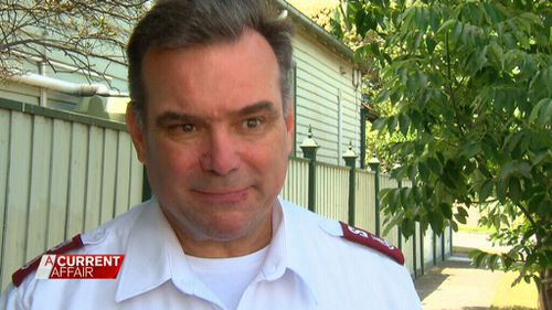 Salvation Army Major Brendan Nottle says attempts to chase Waqa for rent owed