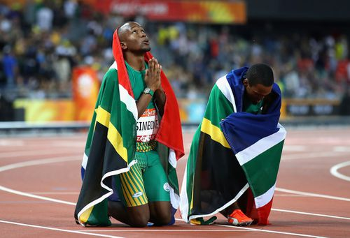 The South Africans topped the podium. (Getty)