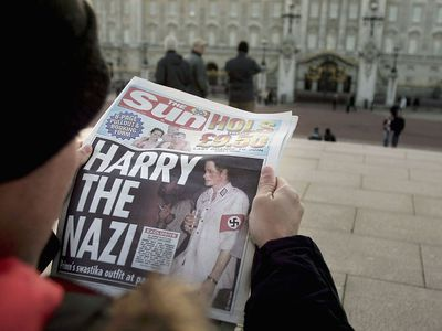 British royal family scandals: Prince Harry's Nazi costume