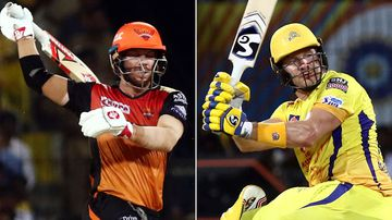 Watson tops Warner as Aussies go big in IPL cracker