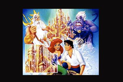<b>The scandal: </b>Some believe one of the towers on the castle in the background of <i>The Little Mermaid</i>'s promotional artwork was intentionally drawn to resemble male genitalia. <br/><b>But did it really happen? </b>Unlikely. While the tower is undoubtedly phallic, the artist who drew it was apparently unaware of the resemblance. Disney later modified the castle artwork to avoid further fuss.