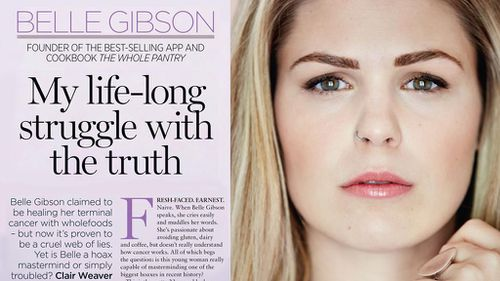 'None of it's true': Whole Pantry author Belle Gibson admits she lied about having terminal cancer