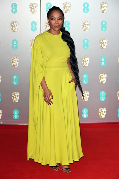 Naomi Ackie attends the EE British Academy Film Awards 2020 at Royal Albert Hall on February 02, 2020 in London, England.