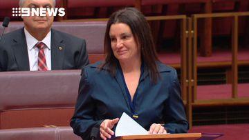 9RAW: Jacqui Lambie announces senate resignation