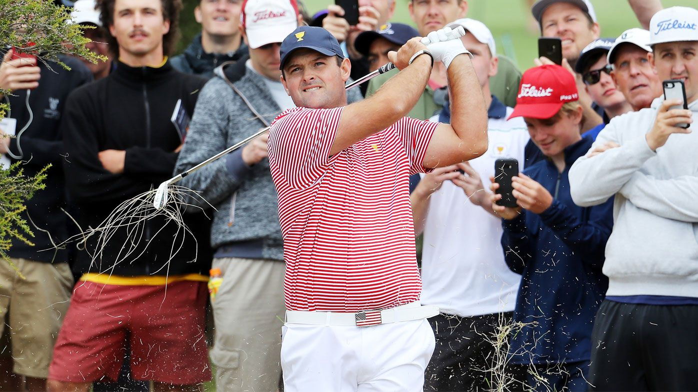 Patrick Reed of the United States team
