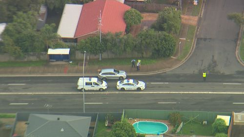 A child has been hit by a car in Quakers Hill.