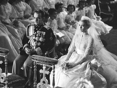 Grace Kelly's wedding to Prince Rainier of Monaco