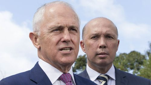Prime Minister Malcolm Turnbull's government will today pledge $150 million to upgrade Queensland's Bruce Highway to ease congestion. Picture: AAP.
