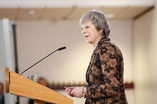 Ms May's own Conservative Party triggered a confidence vote in her party leadership, which she won, but a third of her party's lawmakers revolted against her.
