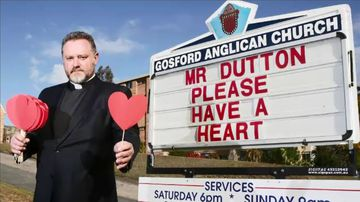 Controversial priest aiming for a Senate seat on climate-change ticket