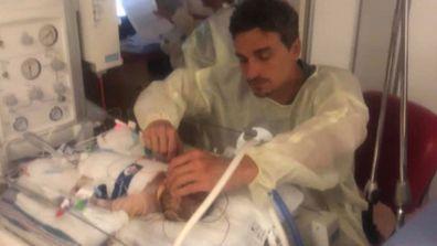 Newborn fights in NICU