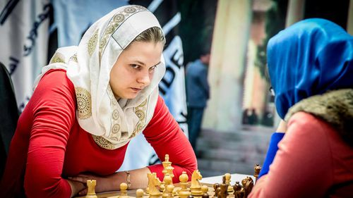 Despite feeling bitter about losing her titles, Ms Muzychuk said she would stand by her principles and skip the championship. (Supplied)