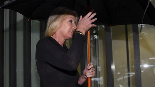Ms Hitchcock is accused of attacking a police officer and a stranger. (AAP)