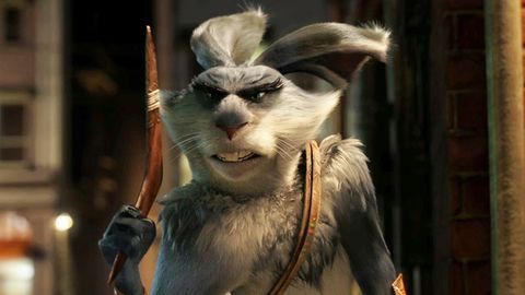 Watch: Hugh Jackman is an ocker Aussie Easter Bunny in Rise of the Guardians