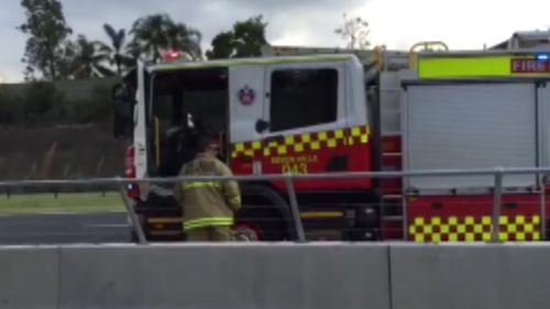 Commuters are being advised to avoid the area. (9NEWS)