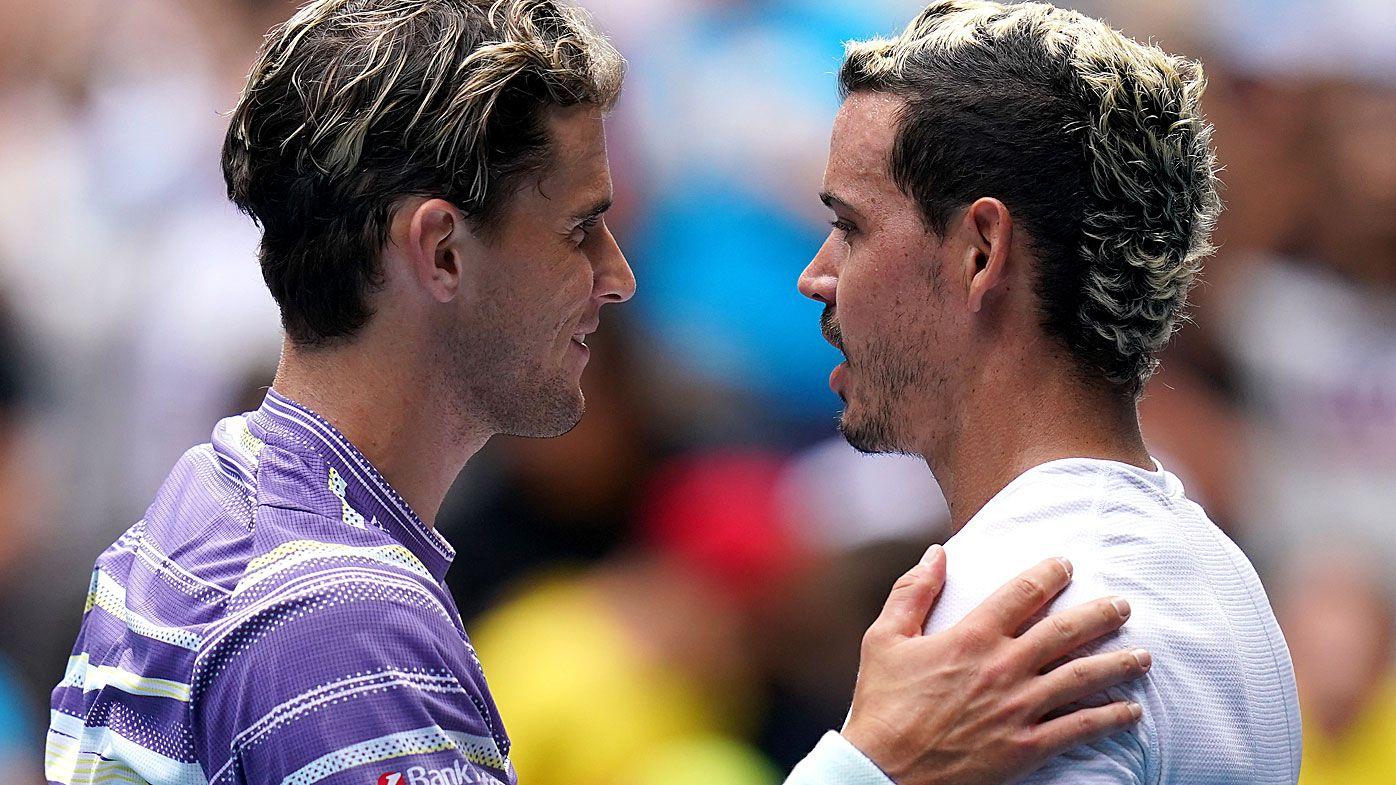 World No.5 Dominic Thiem predicts top 100 awaits Aussie Alex Bolt