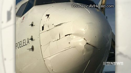 """Experts say it's """"simply of matter of when"""" a drone collision will bring down an aeroplane. (9NEWS)"""
