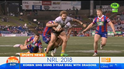 NRL: St George Illawarra Dragons sign Korbin Sims from Brisbane Broncos
