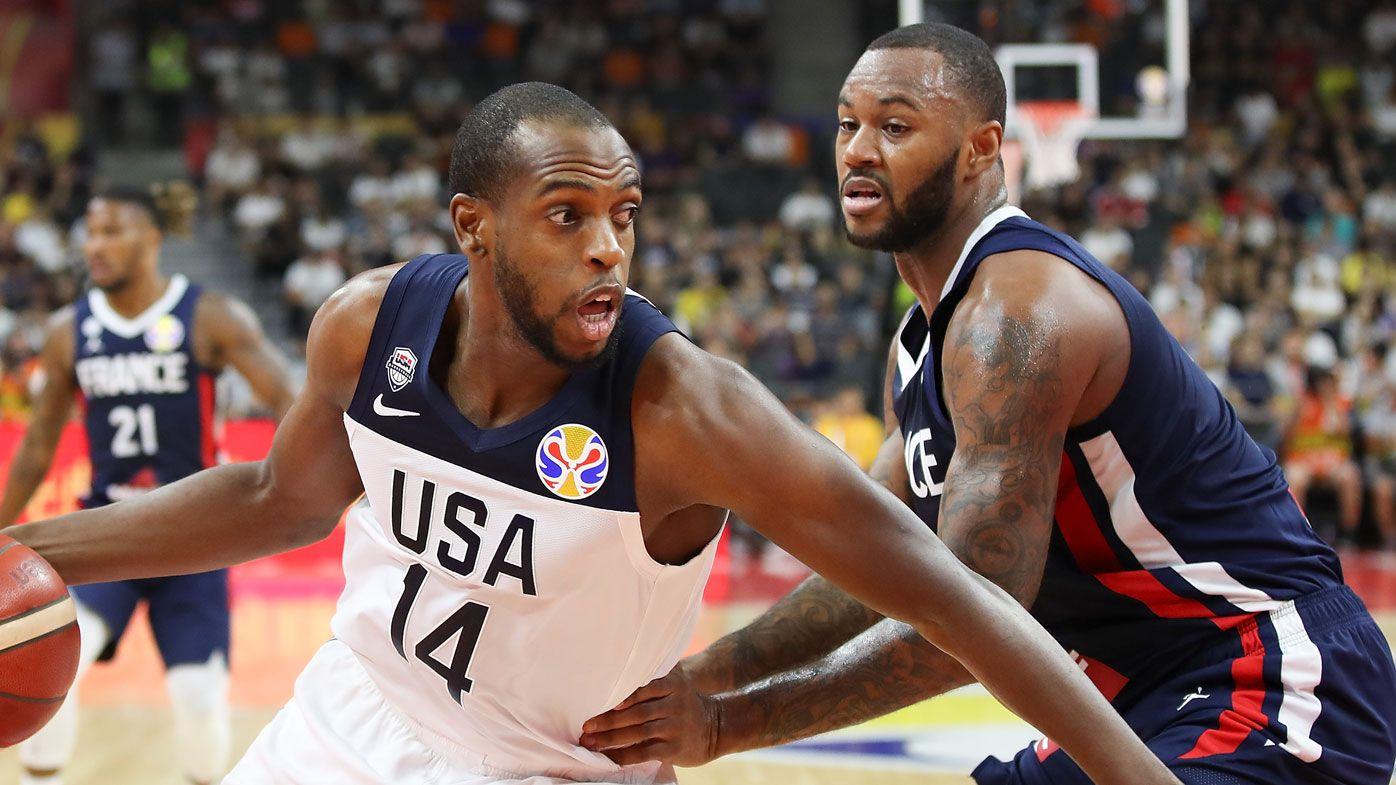 Khris Middleton of Team USA