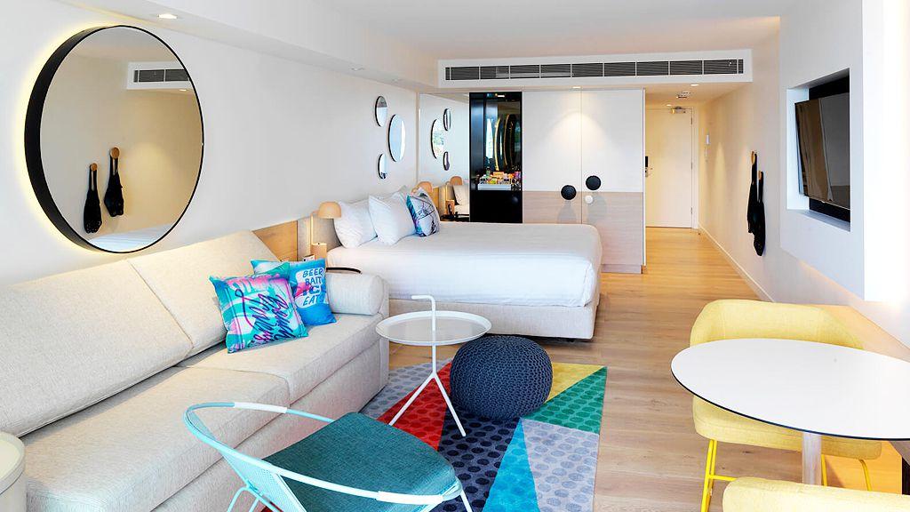 Bondi hotel room (supplied)
