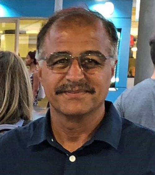 Police are searching for the missing man, Mehidi Saberian.