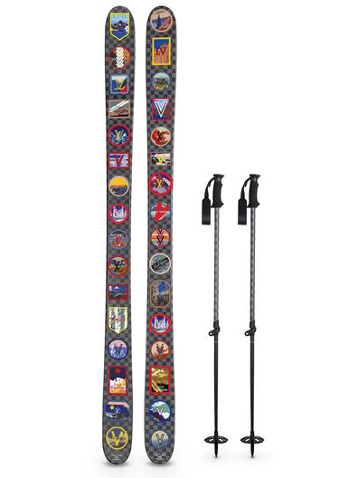 Louis Vuitton alpine skis