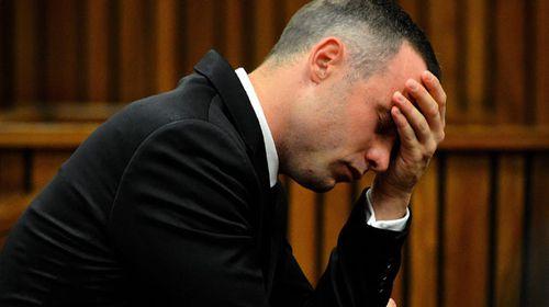 Oscar Pistorius in court. (AAP)
