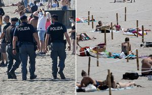 Europeans hit the beach amid confusing coronavirus travel rules