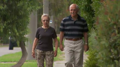Robyn and Trevor Morrell are taking part in the study. (9NEWS)