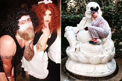 """The <I>Fashion Police</i> host celebrated the big 3-0 with a Halloween-themed birthday bash in LA on the weekend, dressing up as <i>The Rocky Horror Picture Show</i>'s naughty Transylvanian maid Magenta.<br/><br/>But that was only the start of it... Kelly kept the party going the next day, with a champagne pool party and a random set of Mickey Mouse ears. Seriously, does she have the best fun?<br/><br/>Check out all the Insta-snaps from Kelly's epic b'day.<br/><br/><b><a target=""""_blank"""" href=""""http://twitter.com/TheAdamBub"""">Follow on Twitter</a></b>. Approved by Amy Nelmes.</p><br/><br/>Images: Instagram"""