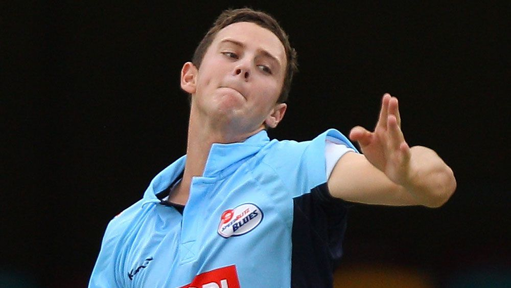 Josh Hazlewood starred for the Blues. (Getty Images)