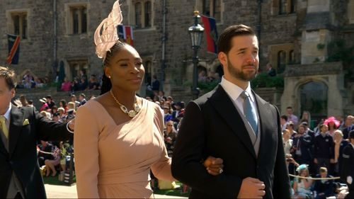 Serena Williams looked stunning in this creation and was accompanied by husband
