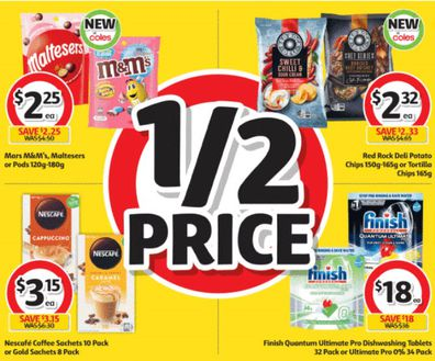 Coles kicks us off with delicious comfort food choices.