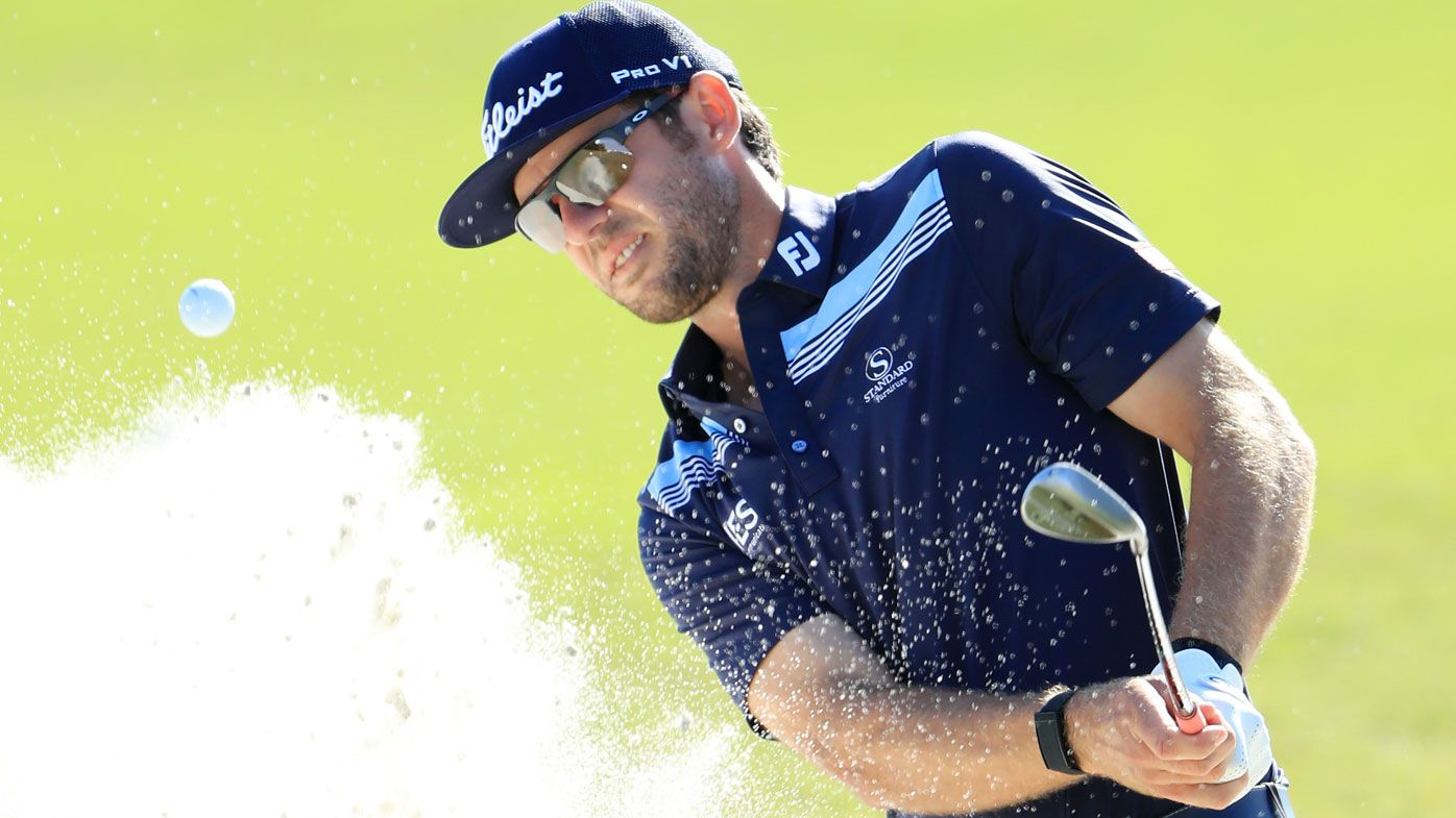 Griffin grabs one-shot Houston Open lead