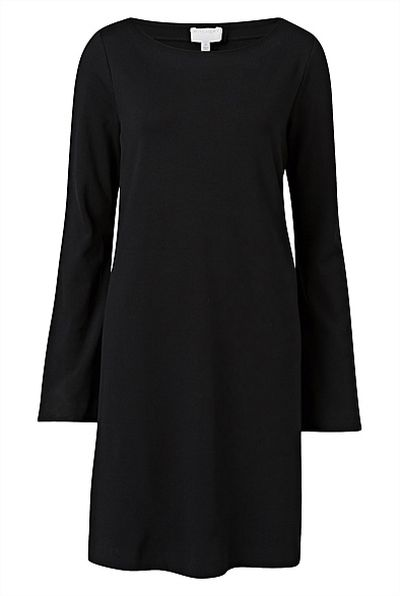 "<a href=""http://www.witchery.com.au/shop/woman/new-in/clothing/60192656/Bell-Sleeve-Swing-Dress.html"" target=""_blank"">Dress, $119.95, Witchery</a>"