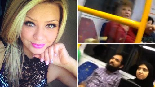 Stacey Eden, who stood up for a Muslim couple being taunted on a Sydney train. (Supplied)