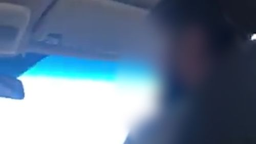 """The driver appears to say """"I don't want to take you"""" in video of the incident."""