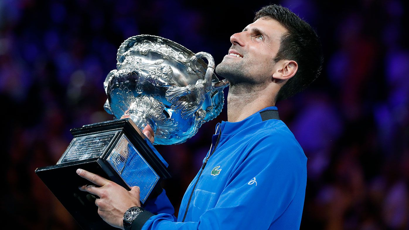 Novak Djokovic will defend his Australian Open title in January.