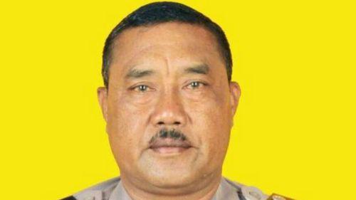 Bali police officer Wayan Sudarsa.