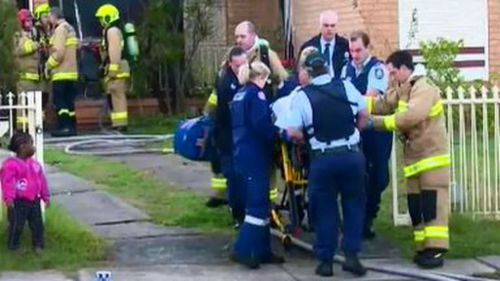 A nine-year-old girl is fighting for her life after a fire tore through her family's home. (9NEWS)