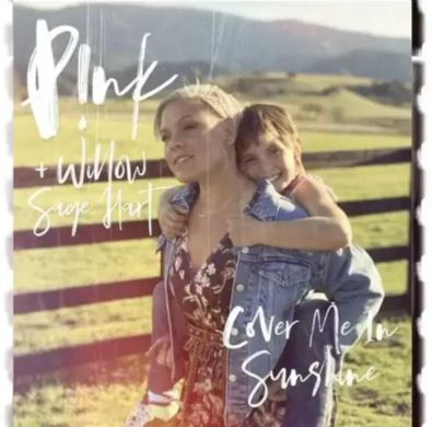 Pink, daughter Willow Hart, Cover Me In Sunshine, duet, Billboard charts